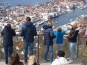 View from Fløien