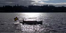 boat sun water